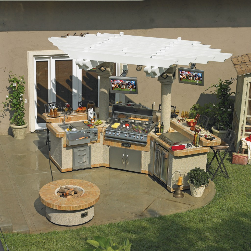Outdoor Kitchen Island Kits House Made Of Paper