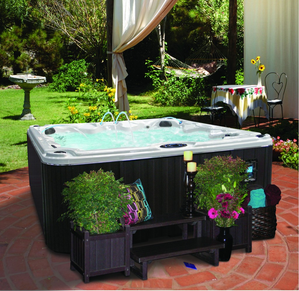 cal spas blog tag l a county fair cal spas. Black Bedroom Furniture Sets. Home Design Ideas