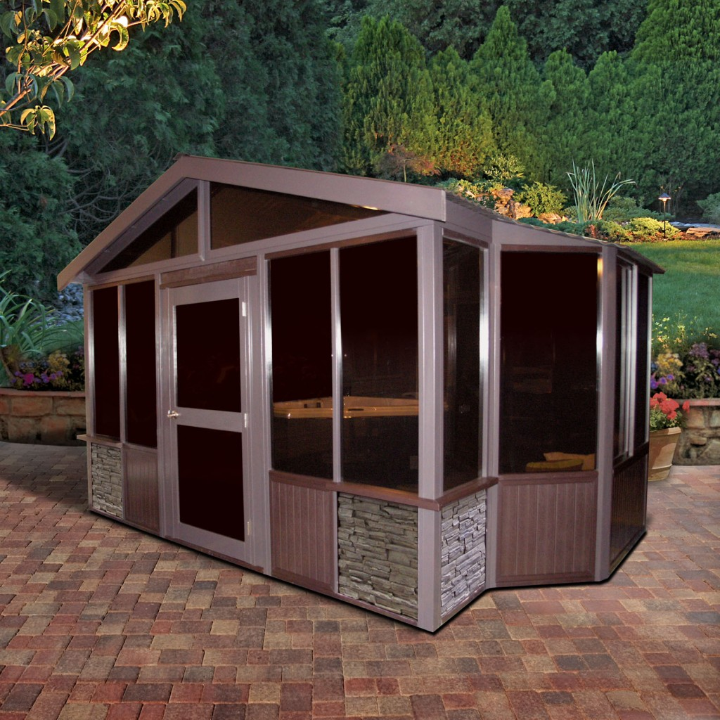 Cal spas blog tuscany outdoor room cal spas for Cal spa gazebo