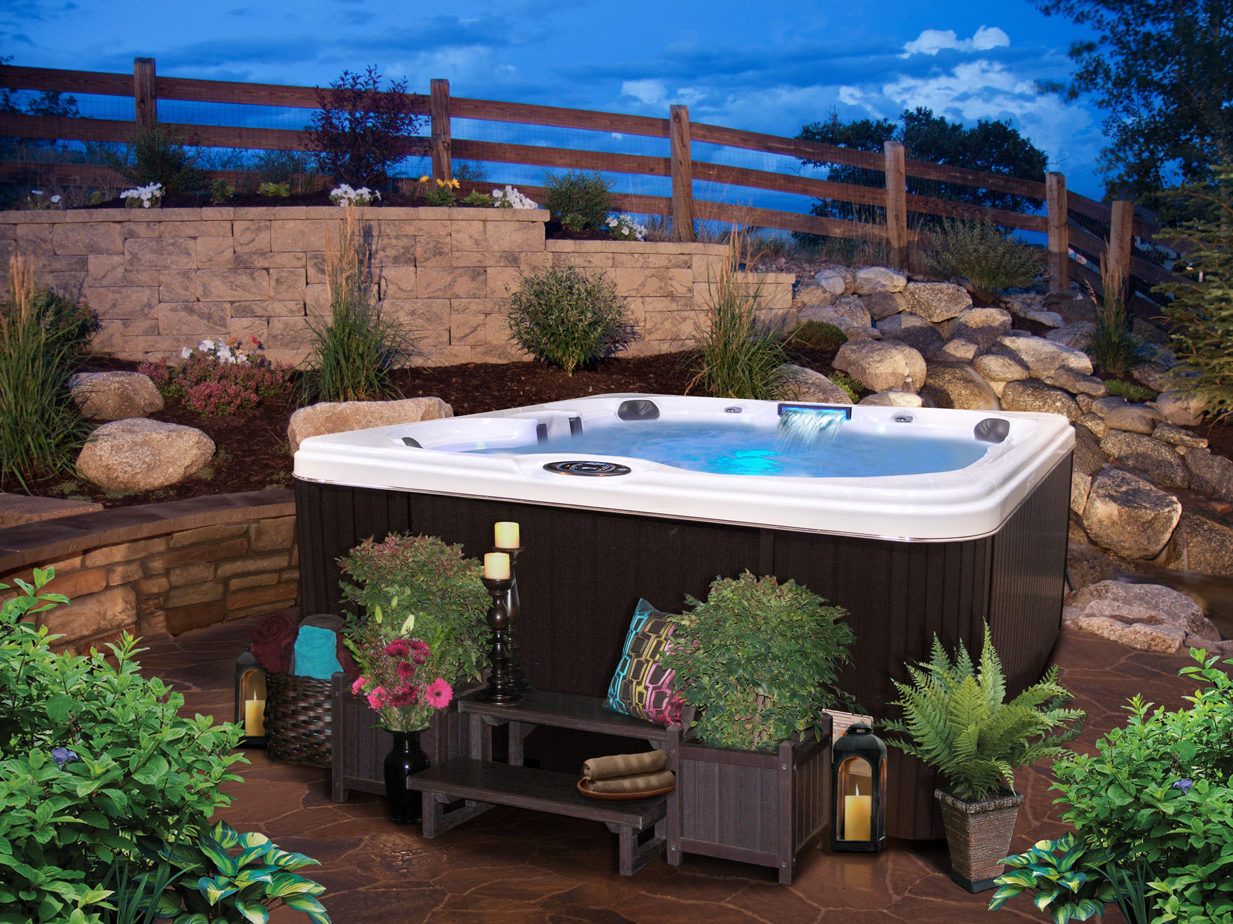 december 2012 cal spas hot tubs spas and swim spas for. Black Bedroom Furniture Sets. Home Design Ideas
